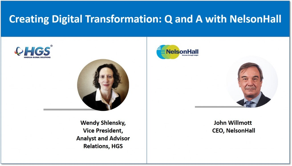 Creating Digital Transformation Q and A with NelsonHall