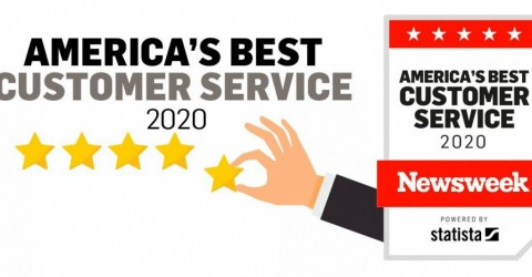 newsweek america's best customer service award 2020
