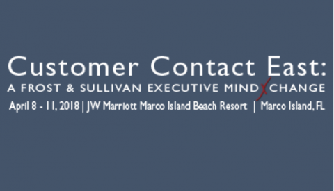 Frost and Sullivan – Customer Contact East